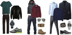 The color palette: Fall Menswear