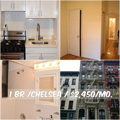 1 BR apt for rent in Chelsea at $2,450/mo.Elevator. Contact us for details.Web ID:624827. #NYCApartments #MovingToNYC #NYCrentals #ApartmentHunting #Moving #NYC #NoFeeApt