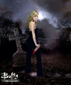 Buffy.. The ONLY vampire show worth watching ;)