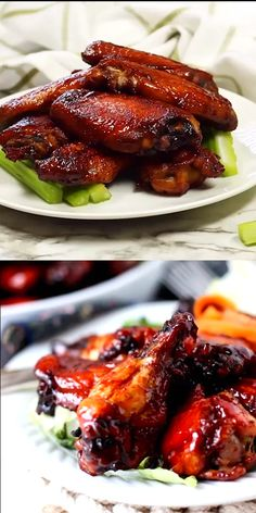 Teriyaki Chicken Wings is part of fitness - Teriyaki Chicken Wings phenomenal, the best you'll ever eat Tender and bursting with flavor Slightly crispy with a sauce that's on the wings and not laying beside it in a little puddle and very easy to make Baked Chicken Recipes, Meat Recipes, Healthy Dinner Recipes, Asian Recipes, Appetizer Recipes, Cooking Recipes, Cooking Tips, Baked Chicken Legs, Dry Rub Recipes