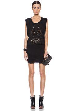 IRO|Brady Silk-Blend Dress in Black