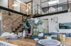 Contemporary apartment by Shoko Design 6 Loft Design, Design Case, Küchen Design, House Design, Design Ideas, Zeitgenössisches Apartment, Apartment Interior, Family Apartment, Apartment Layout