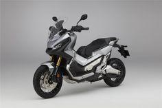 """Uma scooter """"crossover"""" que promete um bom desempenho em qualquer tipo de estrada."""