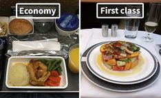 Airline Food: Economy Vs. First Class (10+ Pics)