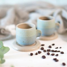 Speckled Espresso Cups