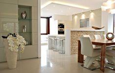 Realizácia kuchyne a obývačky na mieru I Prunus Bratislava Prunus, Bratislava, Browning, Home Goods, Sweet Home, Dining Room, House Design, Table, Furniture