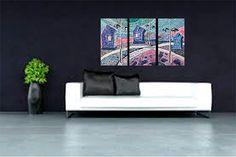 Оригинальная современная живопись на холсте уникальный по ArtKarinaStudio