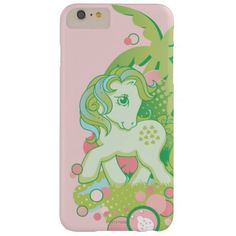My Little Pony Retro Bubbles Design Barely There iPhone 6 Plus Case