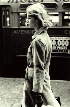 """the60sbazaar: """" Jean Shrimpton in New York (ph. David Bailey) """""""