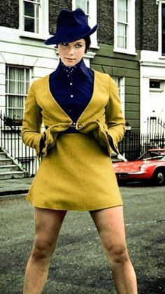 linda Thorson as Tara King in the Avengers