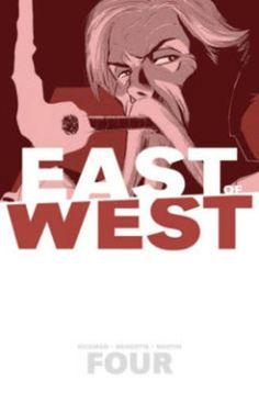 East of West Volume 4: Who Wants War? TP by Nick Dragotta http://www.amazon.co.uk/dp/1632153815/ref=cm_sw_r_pi_dp_Y2ALvb18WBSNZ