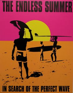 Poster On, Poster Prints, Poster Wall, Surf Movies, Room Posters, Movie Posters, Summer Poster, Style Deco, Sunset Pictures