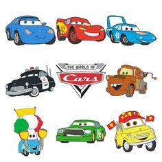 Disney Pixar Cars Cricut Cartridge-Brand by BestScrapbookSupply