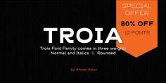 Troia - Webfont & Desktop font « MyFonts