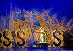 Dames at Sea. Helen Hayes Theatre. Scenic design by Anna Louizos. 2015