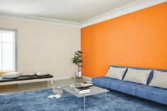 Bedroom Wall Colour Combination, Room Color Ideas Bedroom, Interior Paint Colors For Living Room, Wall Painting Living Room, Interior Wall Colors, Living Room Colors, Living Rooms, Interior Ideas, Interior Design