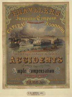 Travelers Insurance Company of Hartford, Conn. advertisement