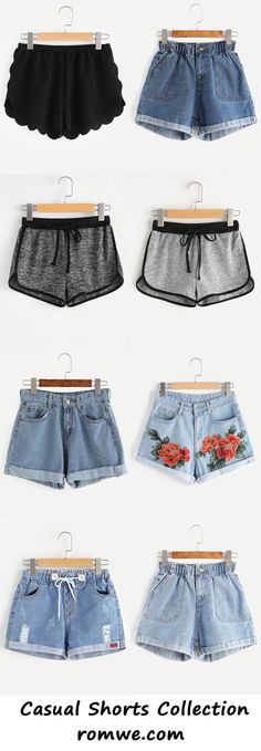 casual shorts collection - romwe.com