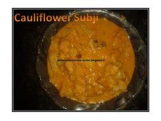 DAILY CHORES: Cauliflower Subji http://dailychoresrecorded.blogspot.in/2012/12/cauliflower-subji.html