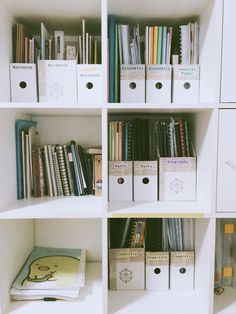 bunzenol:   Cleaned up my shelf today  - The Organised Student