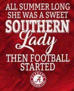 Southern Ladies, Alabama Football, Alabama Crimson Tide, Roll Tide