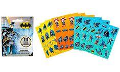 Batman Sticker Book 9 Sheets  Party City