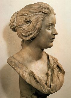 Retrato de Costanza Bonalelli. 1637. Bernini. 1598-1680. Alto barroco. Etapa de madurez.