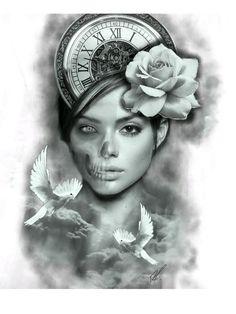 Tattoo, drawing, art, black and white, beauty png Flower Tattoo Hand, Flower Tattoo Drawings, Flower Tattoo Shoulder, Flower Tattoo Designs, Tattoo Sketches, Chicano Tattoos Sleeve, Leg Sleeve Tattoo, Tattoo Studio, Jasmine Tattoo