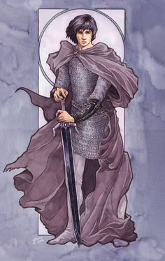 Turin Turambar - Jenny Dolfen//My Simarillion crush for forever Character Sketches, Character Art, Character Design, Character Ideas, Dnd Characters, Fantasy Characters, O Silmarillion, Into The West, Jrr Tolkien