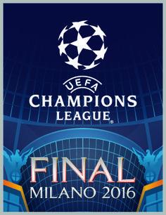 logo fianal champions league 2016 - Buscar con Google