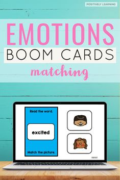 Emotions and Feelings Digital Task Cards - 30 questions to help our youngest learners recognize BIG emotions! With vocabulary and picture support, these could be used in a calming corner, to progress monitor social emotional goals and objectives, or add to an independent center.