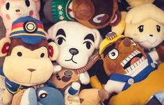15 animal crossing plushies