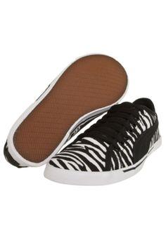 Tênis Puma Benecio Animal Print Wns Zebra