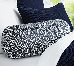 Gretchen Bolster Pillow Cover #potterybarn