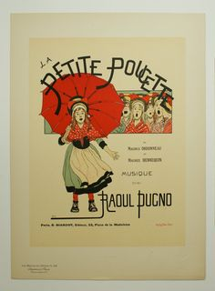 Boutet de Monvel, Maitres de L'Affiche Poster, France 1898, Plate No.106, Ad for a Paris musical production of La Petite Poucette.   by AuthenticPosters, $125.00