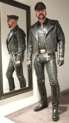 Leather Blazer, Leather Gloves, Leather Men, Black Leather, Straight Guys, Sexy Boots, Men's Collection, Leather Fashion, Black Men