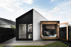 (Absolutely adore the wooden framed room...)  A Modern Home in Ascot Vale, Australia