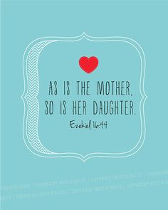 """Printable Mother's Day art print 8x10"""" // Bible verse quote"""
