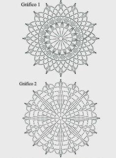 Crochet Tunic Pattern, Crochet Mandala Pattern, Crochet Shirt, Crochet Stitches Patterns, Crochet Diagram, Crochet Squares, Filet Crochet, Irish Crochet, Crochet Designs
