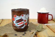 mug cake nutella videoreceta cuuking Nutella Mug Cake, Zucchini Cake, Cake Youtube, Savoury Cake, Dessert Recipes, Desserts, Root Beer, Original Recipe, Clean Eating Snacks