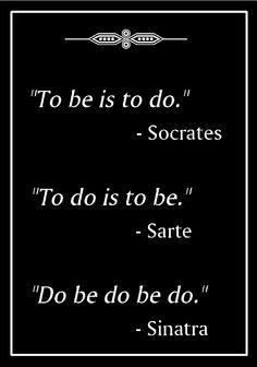 Philosophers...
