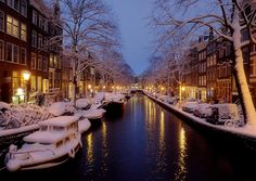 Amsterdam in the winter? Yes Please!