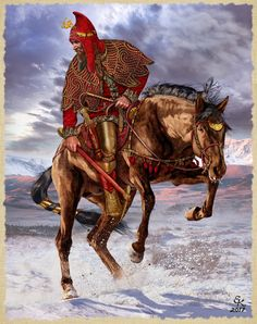 Ранние скифы.Курган Аржан-2,Центральное погребение.VII век до н.э. Алтай, Тува.