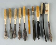 Early Toothbrushes