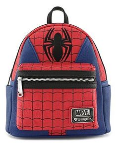 online shopping for Loungefly: Marvel Spider-Man Faux Leather Mini Backpack Standard from top store. See new offer for Loungefly: Marvel Spider-Man Faux Leather Mini Backpack Standard Spiderman Backpack, Marvel Backpack, Backpack Online, Backpack Purse, Diaper Backpack, Stitch Backpack, Marvel Avengers, Captain Marvel, Avengers Outfits