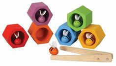Good for a quiet preschool activity. $22 Amazon.com: PlanToys Plan Preschool Bee Hive Preschool: Toys & Games