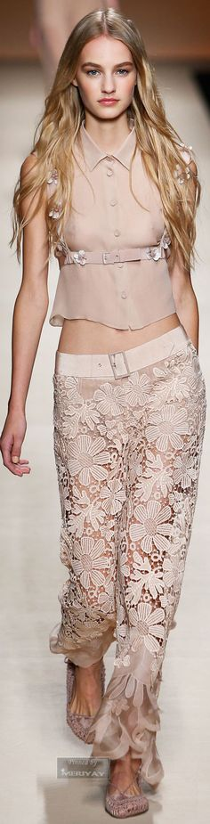 #Fashion          Alberta Ferretti.Spring-summer 2015.