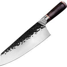 Chef Knife Handmade Forged Kiritsuke Kitchen Knife Stainless Steel Knife for Meat Fruit Fish Vegetables Butcher Knife Meat Fruit, Butcher Knife, Chef Knives, Kitchen Knives, Japanese Chef, Stainless Steel, Fish, Vegetables, Handmade