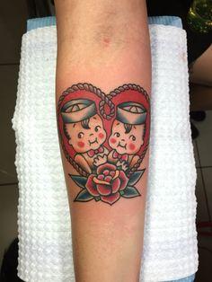 Kewpies twins Tattoo