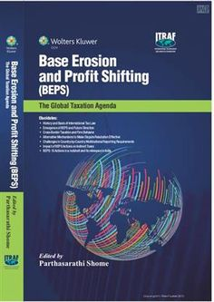 This book focuses on the G20's taxation agenda. It addresses international taxation issues arising from the recommendations of the Base Erosion and Profit Shifting project carried out by the Organisation of Economic Cooperation and Development (OECD) at the behest of the G20.